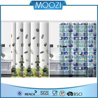 flat screen printed shower curtains transparent custom shower curtains