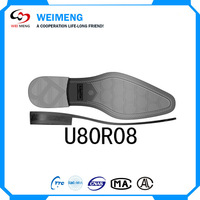 High Cost-Effective Casual Style TPR / TPU / PVC Flexible Rubber Shoe Sole