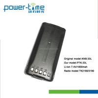 1100mah ni-cd walkie talkie battery pack 7.4V 2000mAh Li-ion Replacement Battery for TK3185/TK-2180/TK-3180(PTK-33L)