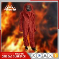 Fireproof And Chemical Protective Clothing Fireman Suit