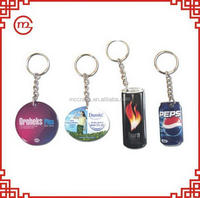 High quality most popular custom metal letter keychains