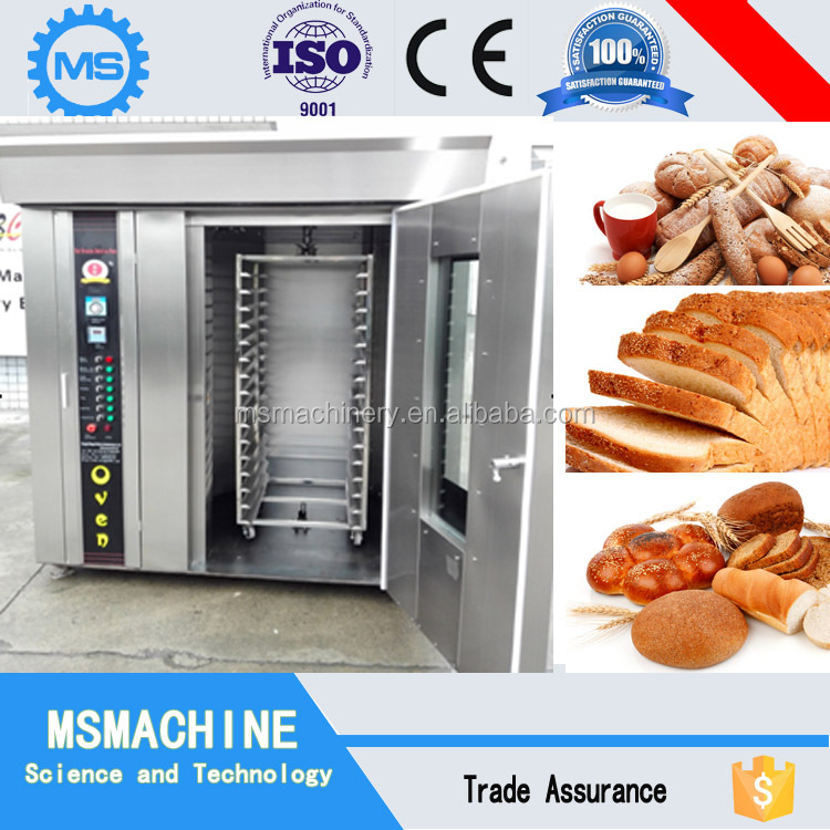 Delicious bread making machine baker oven with CE ROHS