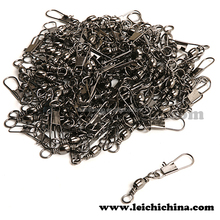 Stock available chinese barrel stainless steel fishing snap swivel