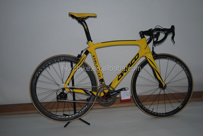 DRACO Taipei Cycle show 10 speed best carbon fiber road bikes 105 groups cheap road bikes