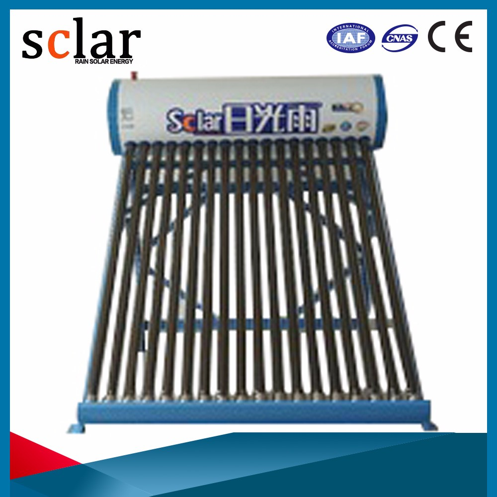 Stable Quality Panel Production Line Low Pressure Instant Solar Water Heater Vacuum Tube