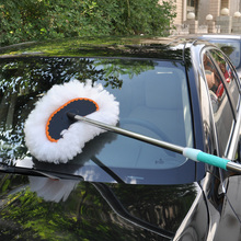 car cleaning brush Wheel Brush with long telescopic handle