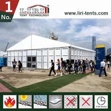 10x51m huge forum tent for Sale, with white pvc sidewall