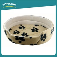 Supply Quality Wholesale printed plush Dog Beds For Large Dogs