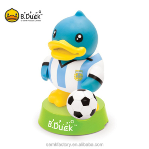 2018 World Cup OEM Factory customized 2D Soft PVC Fans Soccer players figure