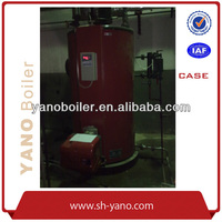 Full automatic Factory Price Natual gas/Oil/Diesel Fired Steam Boiler 500KG/HR Used in Package Machine Industry