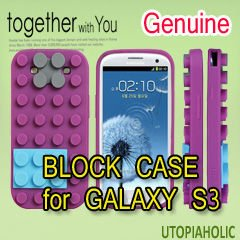 BLOCK CASE Purple for GALAXY S3