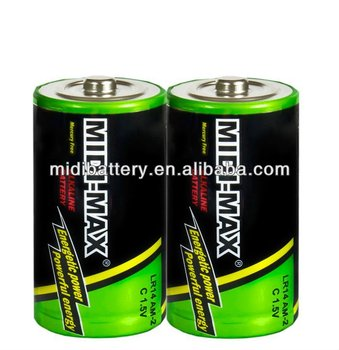 Alkaline dry cell 1.5V c LR14 /dry battery