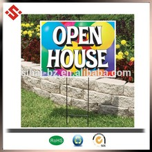 attractive and welcomed pp honeycomb sign board
