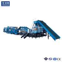 Waste tyre recycling production line for rubber fine powder
