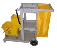 Plastic Janitor Cart