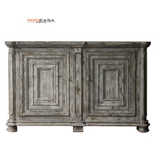 Vintage American Style Distressed Home Decor Cabinets