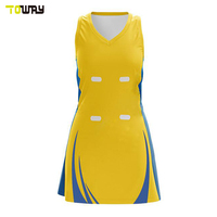 Custom Made Sublimation Printing Netball Dress