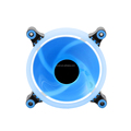 New design blue ring led light 12V pc case fan