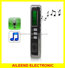 Support Password Locking Recording Monitor and Hearing Aid / Time Stamp / VOR Function 4GB Digital Voice Recorder
