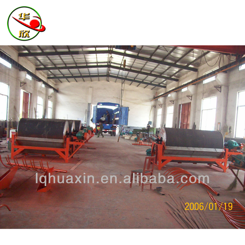Iron sand permanent magnetic separator/magnetic drum