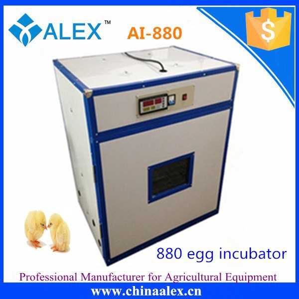 880 eggs largest chicken egg commercial incubator for chicken producing