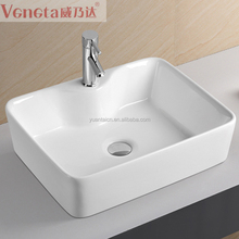 Wholsale european standard sanitary items porcelain bathroom wash basin lavatory