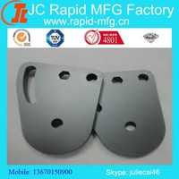 Grey sand blasted anodized aluminum cnc milling machining precision engineering,aluminum milling auto part