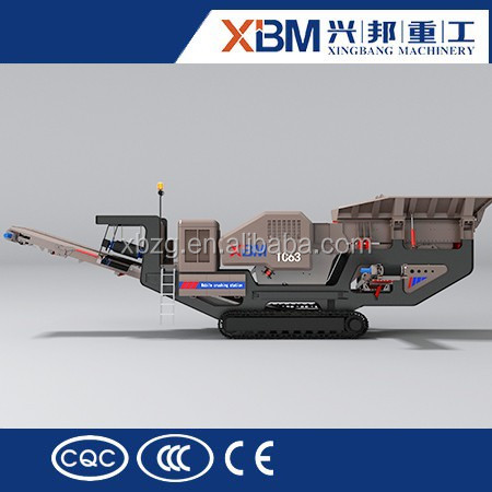 Low Price Portable Rock Mobile Cone Stone Crusher Plant With Crawler For Sale