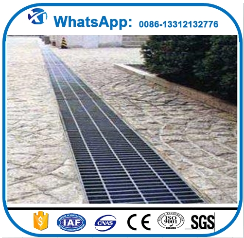 China galvanized steel grating ditch cover/Galvanized Steel Grid mesh