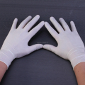 cheap disposable latex examination medical gloves of powdered