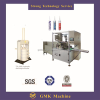 silicone sealant cartridge filler ZDG-300 full automatic filling and capping machine