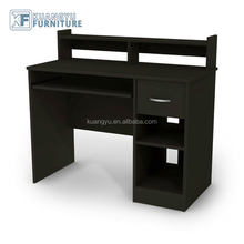 Best Selling Children Collection wooden Computer Desk with side bookshelf, Cheap price Home Office wooden Desk