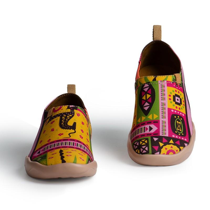Uin African Color Dubai Wholesale Lady Flat Comfort Coat Shoes - Buy Ladies Flat ShoesLady ...