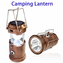 Ultra Bright Camping Lantern with Rechargeable Batteries, Portable LED Solar Collapsible Camping Lantern Flashlights for Outdoor