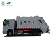 China manufacturer Sinotruk Howo Rear loaded LHD 4X2 16m3 refuse collection new dump garbage compactor truck for sale