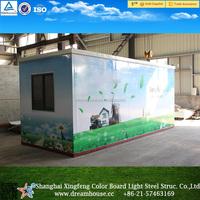 Cheap prefab homes/outdoor food kiosk/steel mobile food kiosk for sale