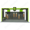 Aluminium Black Slat Wall 10 by 20 Exhibition Stand From Shanghai Supplier