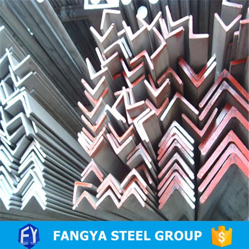 2016 Hot Selling ! steel bars and angular bars q235b tensile strength angle