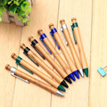 Multicolor creative gifts business office stationery bamboo ball pen