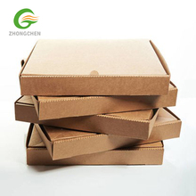 Big Factory Customized Carton Kraft Cardboard Paper Window Pizza Boxes With Logo Packaging Boxes