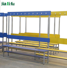 jialifu modern waterproof outdoor public industrial wood benches