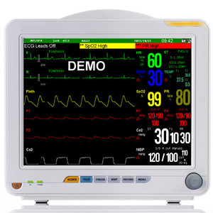 2016 hot sell SNP9000N multi-parameter ambulance equipment medical patient monitor