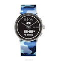 The world's first E-ink display quartz movement smart watch with pedometer and heart rate and sleep monitor