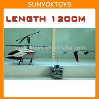 Length 120CM, Big Remote Control Helicopter For Sale, Large Scale Rc Helicopters Sale