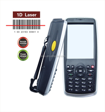 Wins mobile 6.5 handheld PDA barcode laser scanner with13.56Mhz rfid reader, camera, 3G available