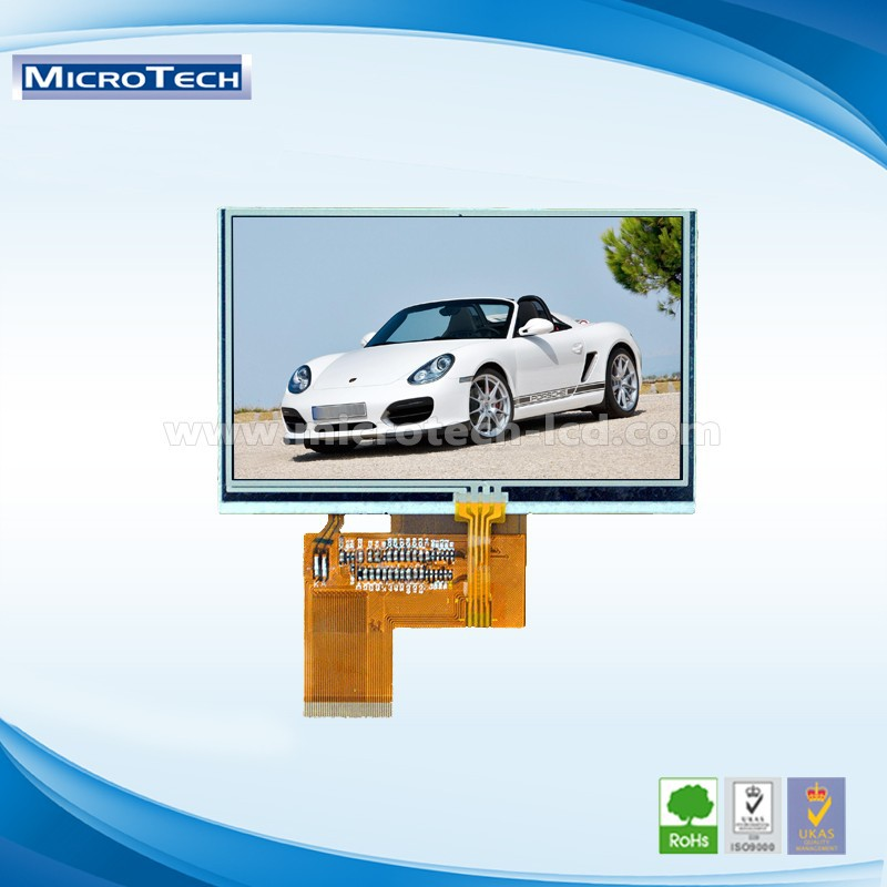 New pattern Special 4.5 inch 540x960 MIPI TFT LCD screen
