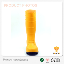 Factory making high quality pvc working safety boots