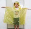 100% PE wholesale waterproof raincoat for kids for pupil