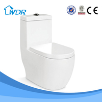 One-piece wc bathroom white ceramic colored luxury toilet