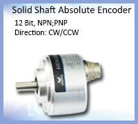 S50 Shaft encoder 24v 5000ppr used in textile machinery